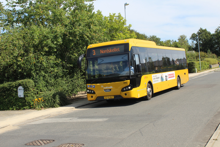 Umove 415/XS92867 på Gørtlervej i Helsted den 13. august 2020
