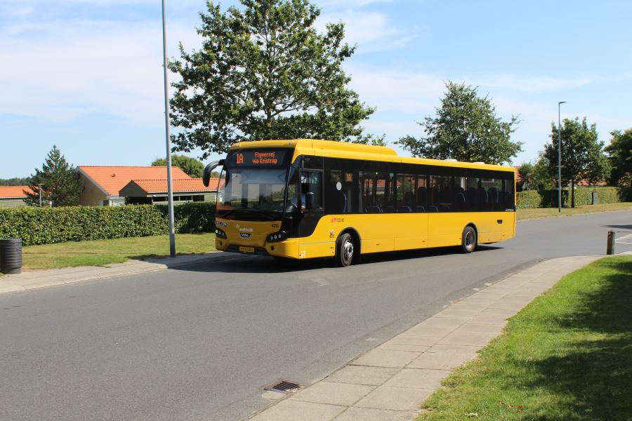 Umove 420/XS92872 på Minervavej i Paderup den 13. august 2020