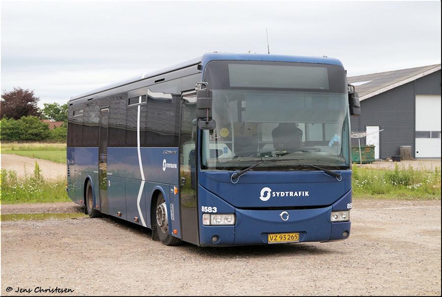 Tide Bus 8583/VZ93265 i Ribe den 3. juli 2020