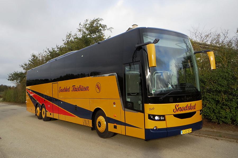 Snedsted Turistbusser CV82834 i Snedsted den 17. oktober 2020