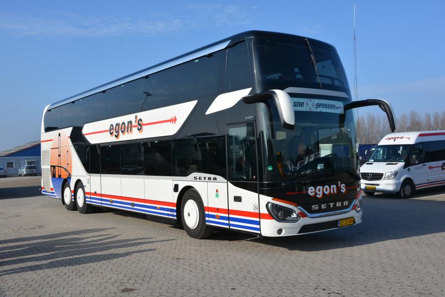 Egons Turist- og Minibusser  294/CE17494 ved garagen i Slagelse den 26. februar 2019
