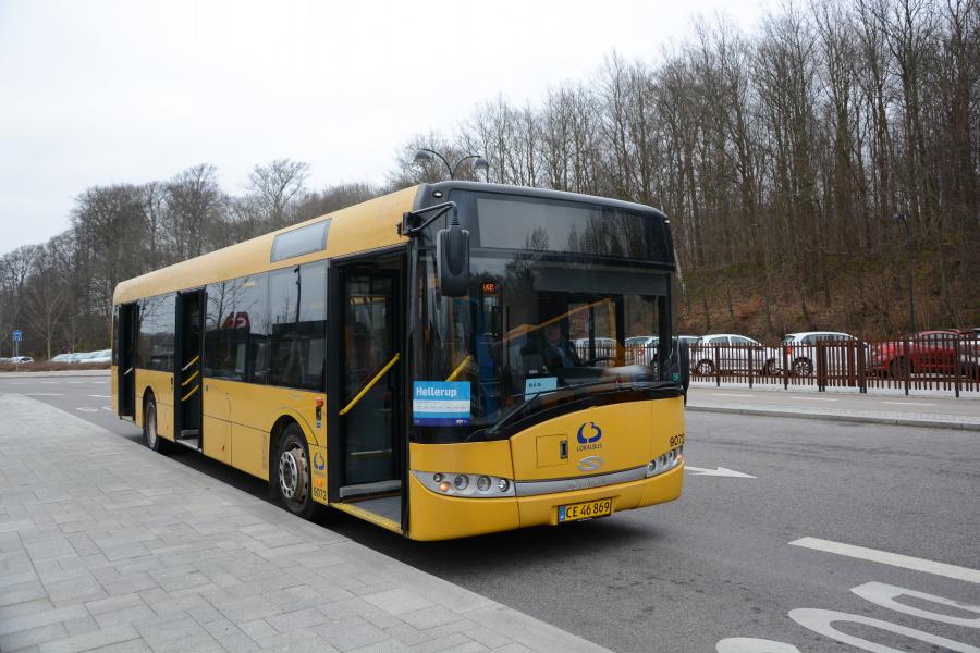 Lokalbus 9072/CE46869 ved Holte Station den 2. marts 2019