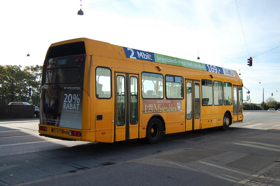 Arriva 1482/PL96253 på Enghavevej i København den 18. september 2009