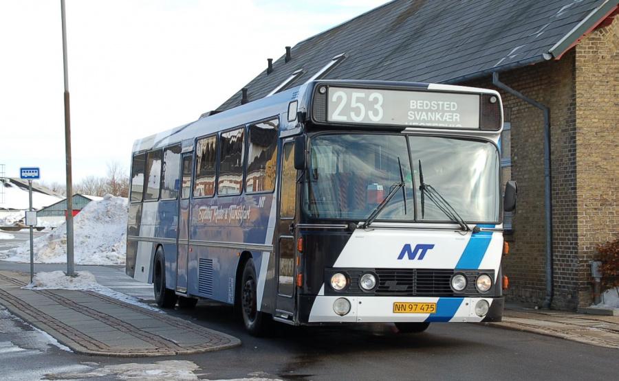 Sydthy Rute og Turistfart NN97475 ved Bedsted Thy St. den 1. marts 2009