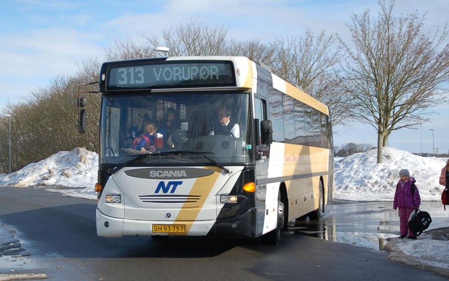 Svend Aages Busser SH93757 i Sjørring den 1. marts 2009