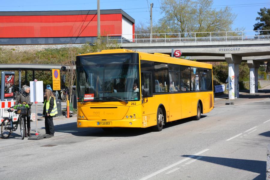 Ballerup Turistfart BY10053 ved Dyssegård Station den 16. april 2019