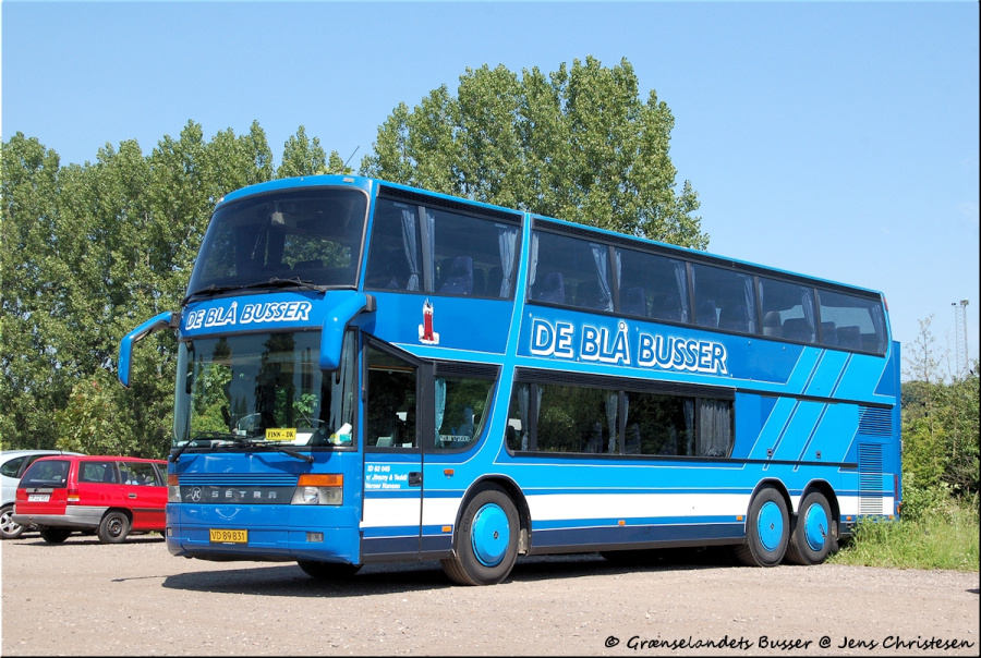 De Blå Busser VD89831 i Fredericia den 28. juni 2010