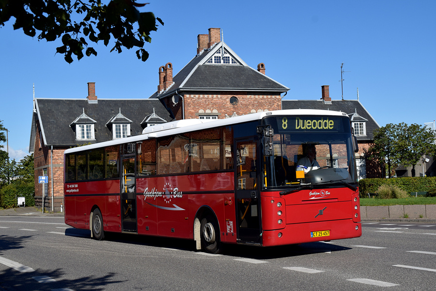 Gudhjem Bus CT25457 på Munch Petersens Vej i Rønne den 1. september 2020
