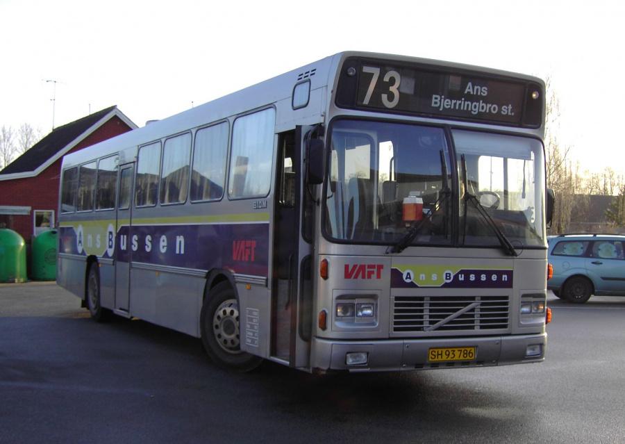 Ans Bussen SH93786 i Ans den 16. marts 2007