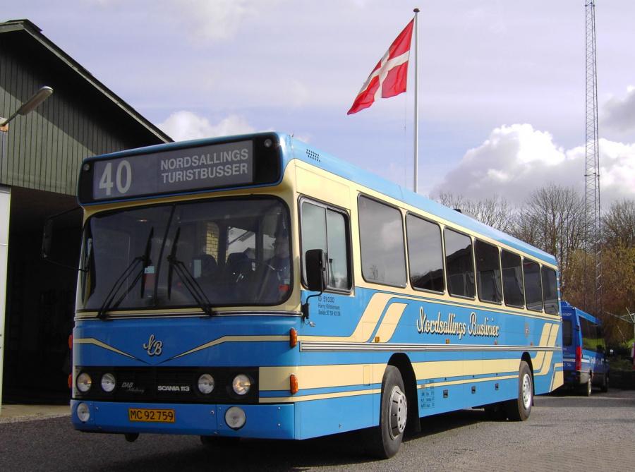 Nordsallings Buslinier 6/MC92759 i Selde den 10. marts 2008