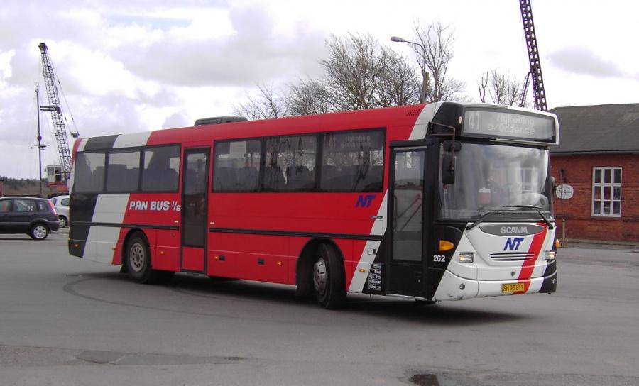 Pan Bus 262/SH93811 i Nykøbing Mors den 10. marts 2008
