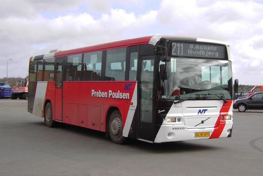 Poulsens Rutebiler SC91873 i Nykøbing Mors den 10. marts 2008
