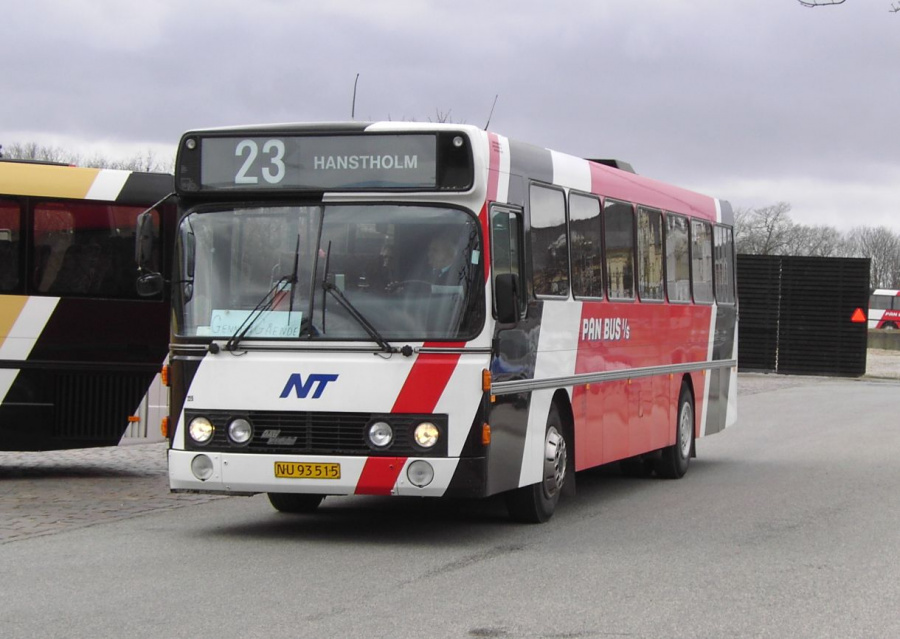 Pan Bus 225/NU93515 i Thisted den 10. marts 2008