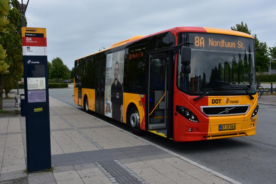 Arriva 1342/BT15564 på Friheden Station i Hvidovre den 19. august 2018
