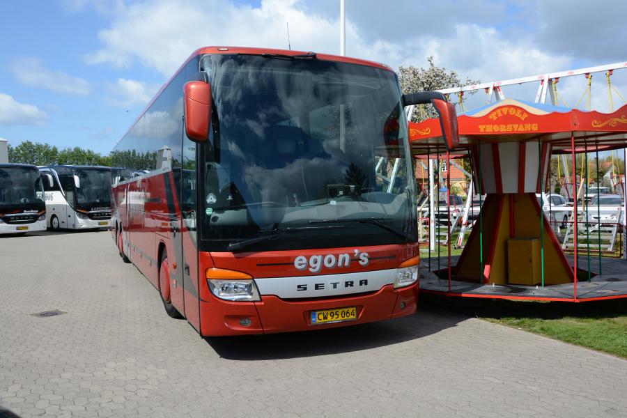 Egons Turist- og Minibusser 234/CW95064 i Stege den 7. maj 2019