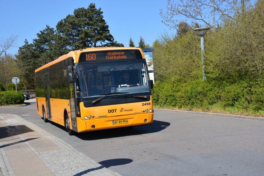 Keolis 2498/AF89994 på Gladsaxe Trafikplads den 23. april 2019