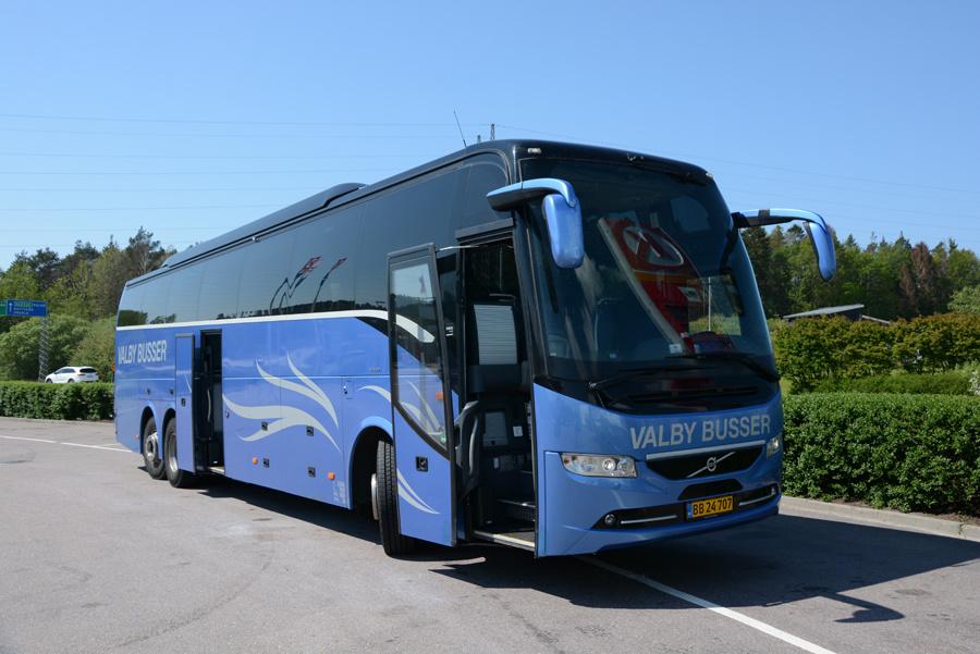 Valby Busser BB24707 et sted i Sverige den 19. maj 2019
