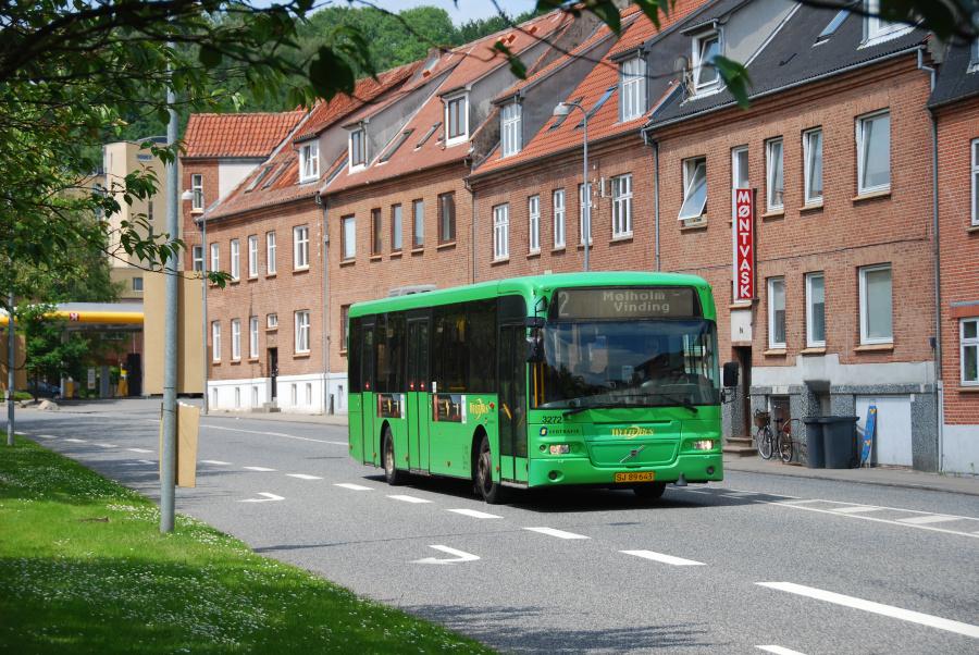 Arriva 3272/SJ89643 på Vardevej i Vejle den 23. juni 2010