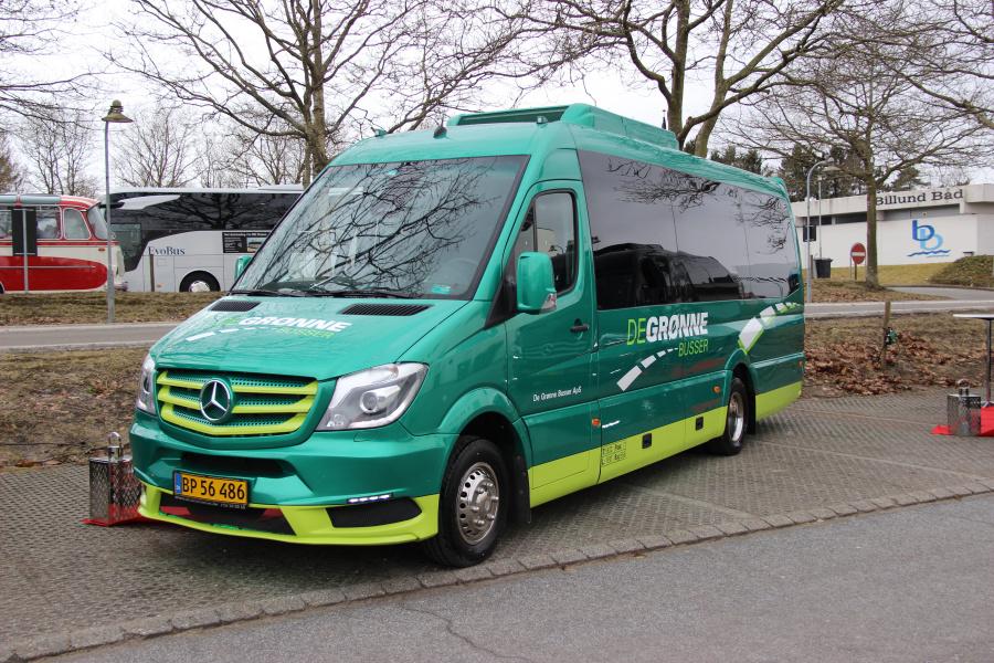 De Grønne Busser BP56486 i Billund den 18. marts 2018