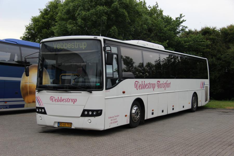 Vebbestrup Turistfart 40/BD60755 ved Buscenter Vest i Kolding den 5. juni 2020