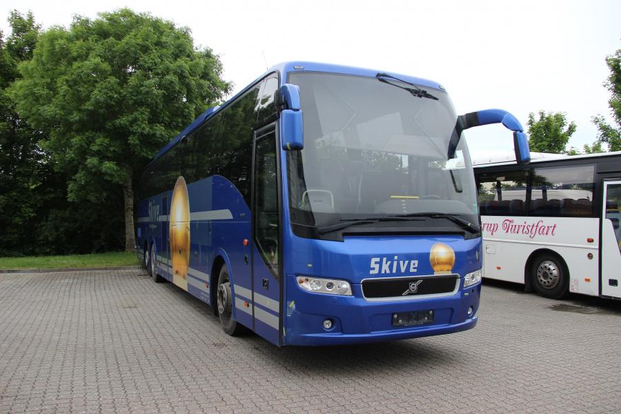 Skive Minibusser ved Buscenter Vest i Kolding den 5. juni 2020