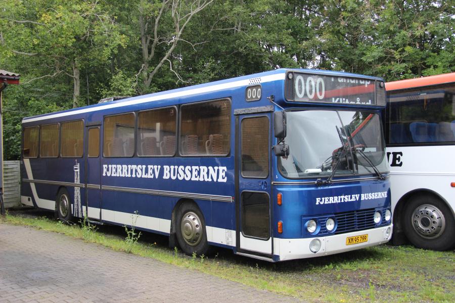 Fjerritslev Busserne 346/XM95799 i Fjerritslev den 5. juli 2020