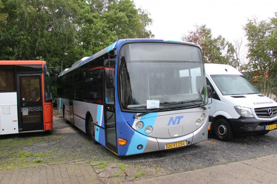 Fjerritslev Busserne UU93234 i Fjerritslev den 5. juli 2020