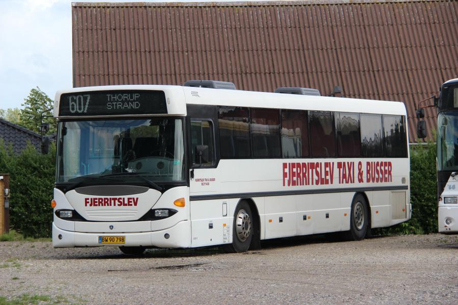 Fjerritslev Taxi & Busser 15/BW90798 i Fjerritslev den 5. juli 2020