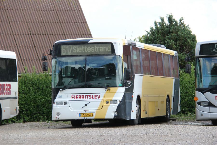 Fjerritslev Taxi & Busser 21/BZ62505 i Fjerritslev den 5. juli 2020