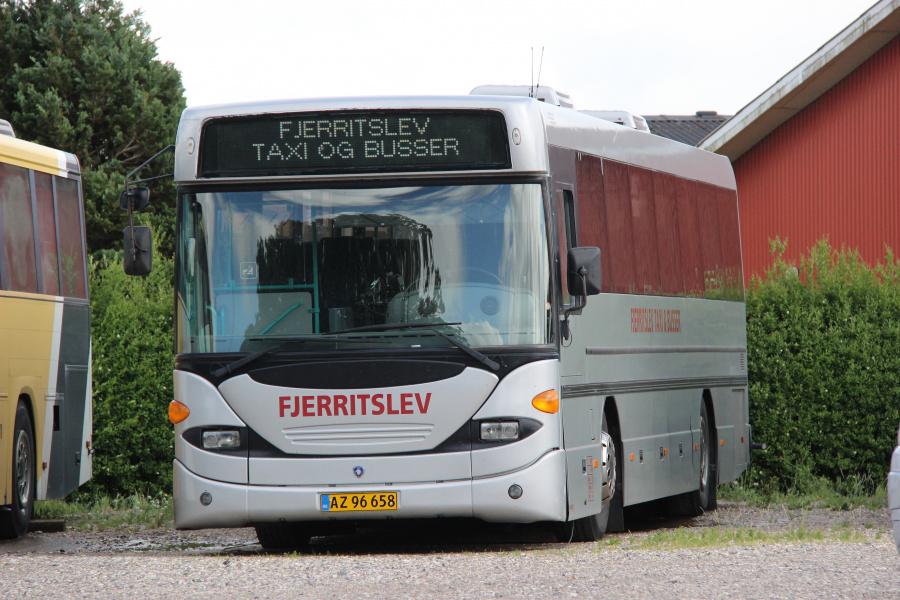 Fjerritslev Taxi & Busser 16/AZ96658 i Fjerritslev den 5. juli 2020