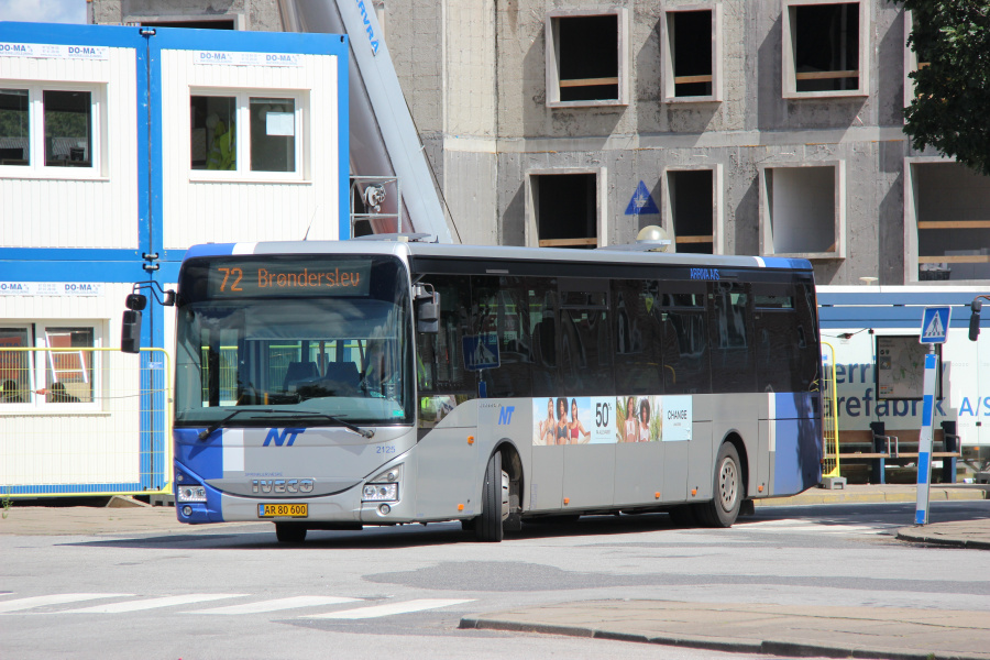 Arriva 2125/AR80600 ved Brønderslev Station den 8. juli 2020