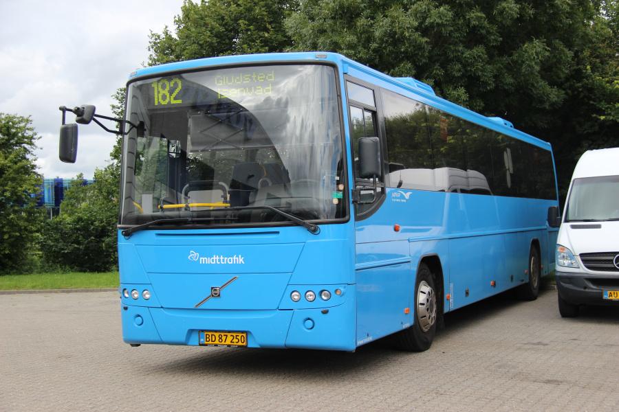 Mørups Turistfart BD87250 ved Buscenter Vest i Kolding den 12. juli 2020