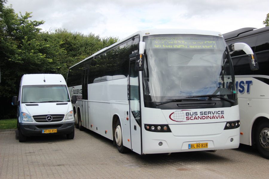 Herning Bilen BL80818 ved Buscenter Vest i Kolding den 12. juli 2020