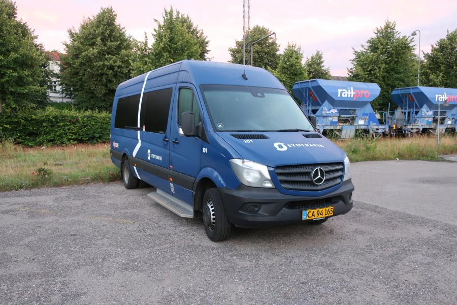 Umove 101/CA94165 på Gammelhavn i Vejle den 6. august 2020