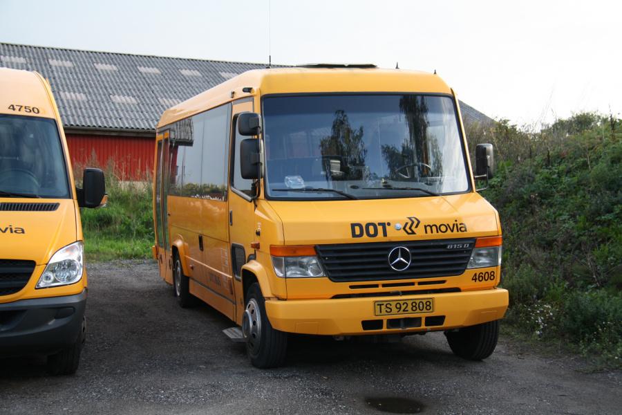 Ditobus 4608/TS92808 i garagen i Fuglebjerg den 8. september 2018