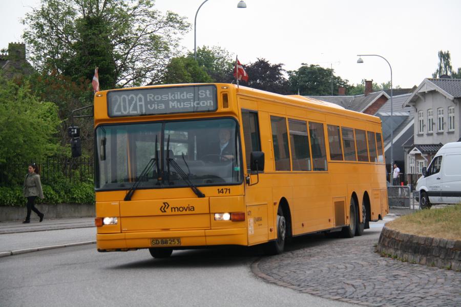 Arriva 1471/SD88253 ved Køgevej/Ny Østergade i Roskilde den 15. juni 2016