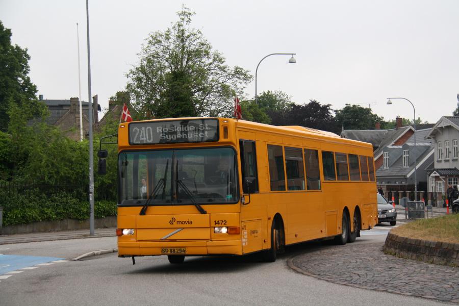Arriva 1472/SD88254 ved Køgevej/Ny Østergade i Roskilde den 15. juni 2016