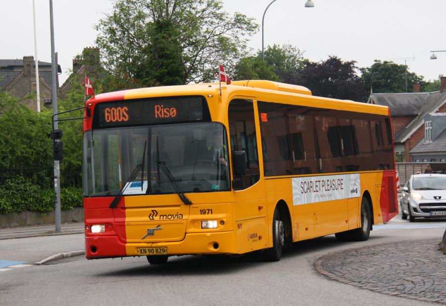 Arriva 1971/XN90829 ved Køgevej/Ny Østergade i Roskilde den 15. juni 2016