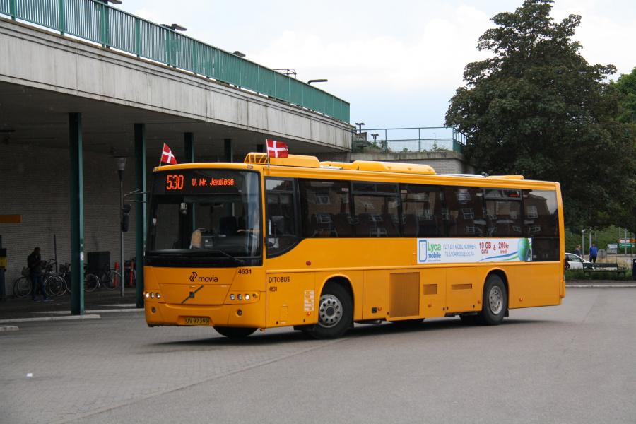 Ditobus 4631/UV97395 ved Holbæk St. den 15. juni 2016