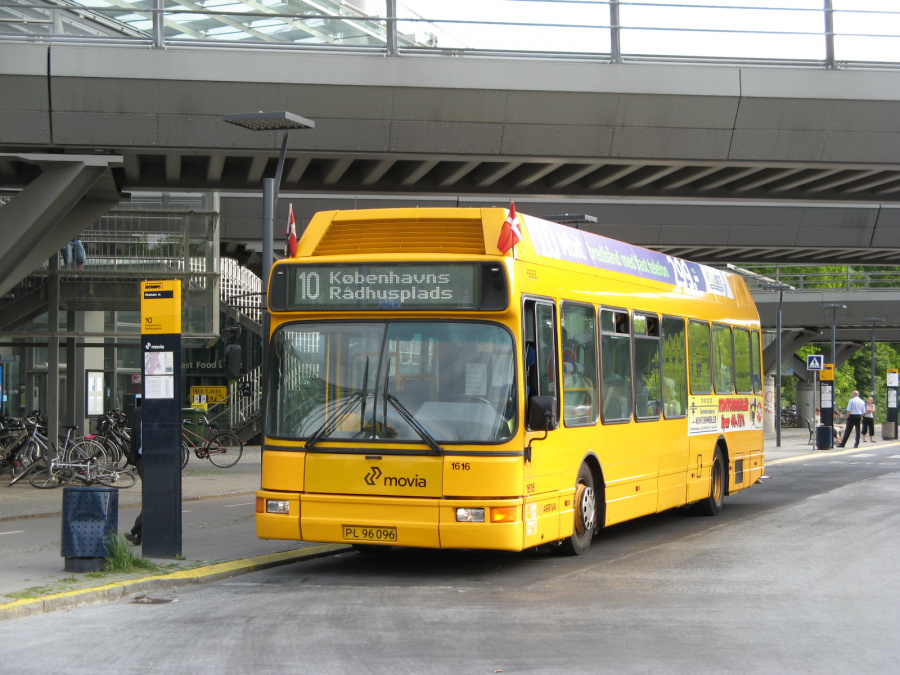 Arriva 1616/PL96096 på Flintholm St. den 24. maj 2008