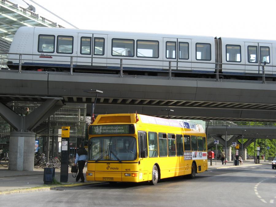 Arriva 1616/PE97295 på Flintholm St. den 24. maj 2008