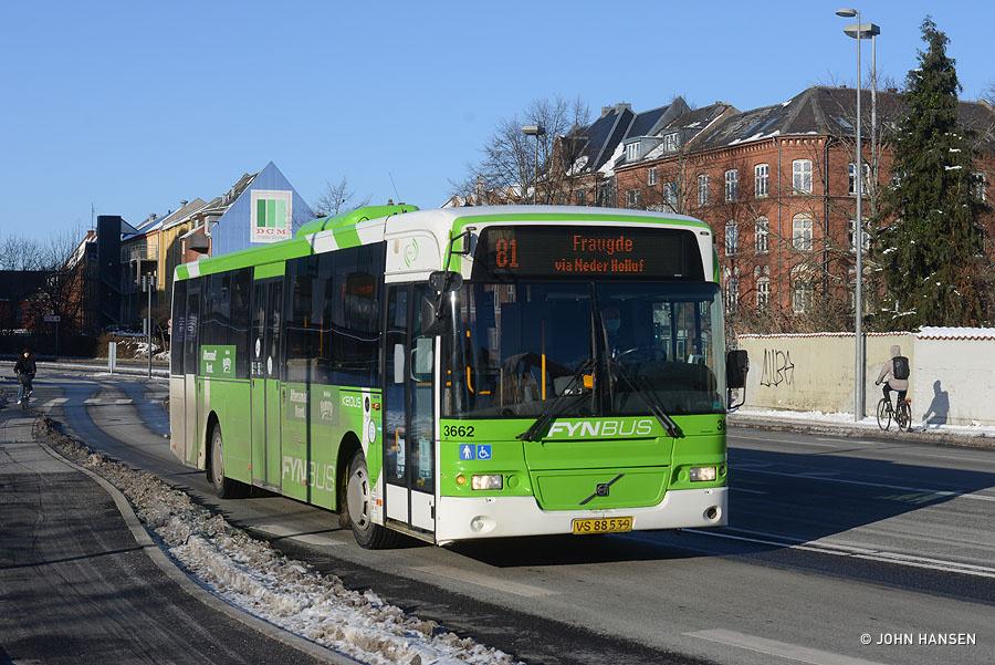 Keolis 3662/VS88539 på Hans Mules Gade i Odense den 6. februar 2021