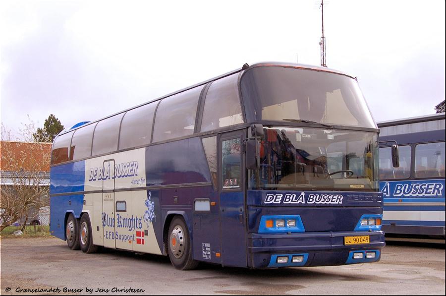 De Blå Busser UJ90049 i Esbjerg den 15. marts 2008