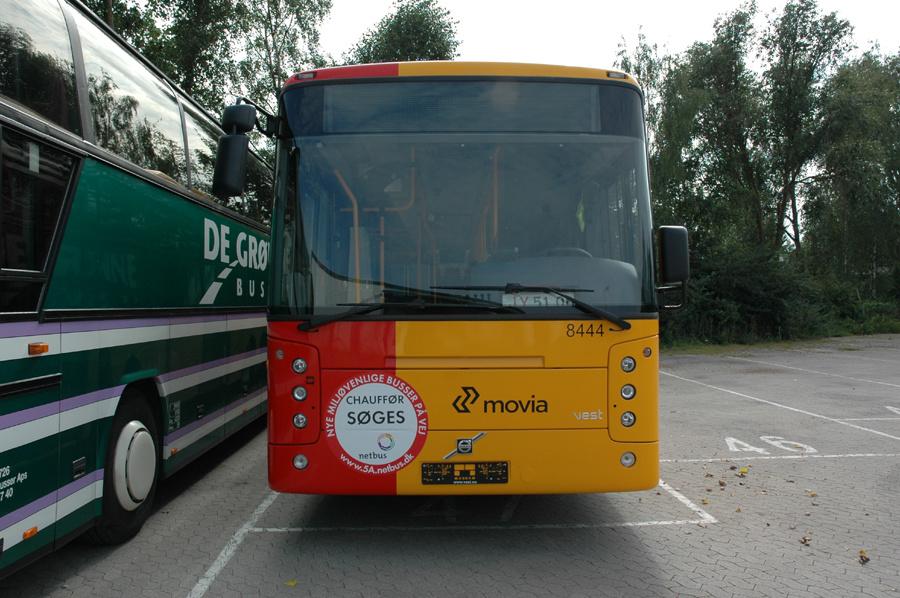 Netbus 8444 ved MAN på Ejby Industrivej i Glostrup den 19. august 2007