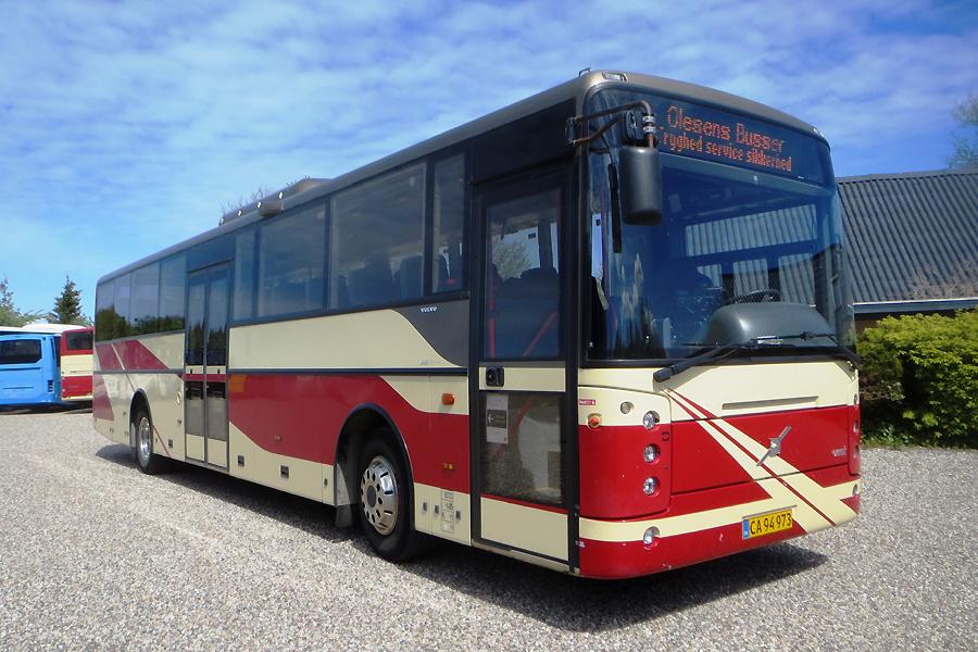 Olesens Busser 98/CA94973 i Sørup den 20. maj 2020