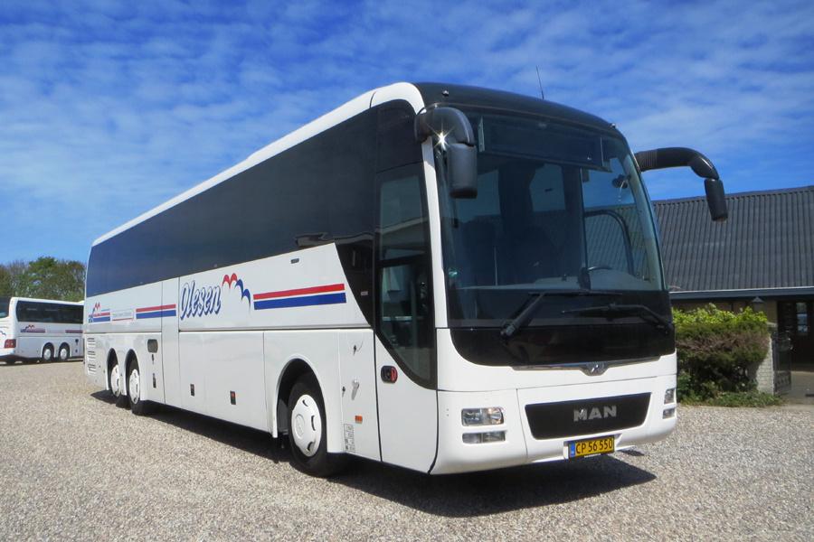 Olesens Busser 102/CP56550 i Sørup den 20. maj 2020