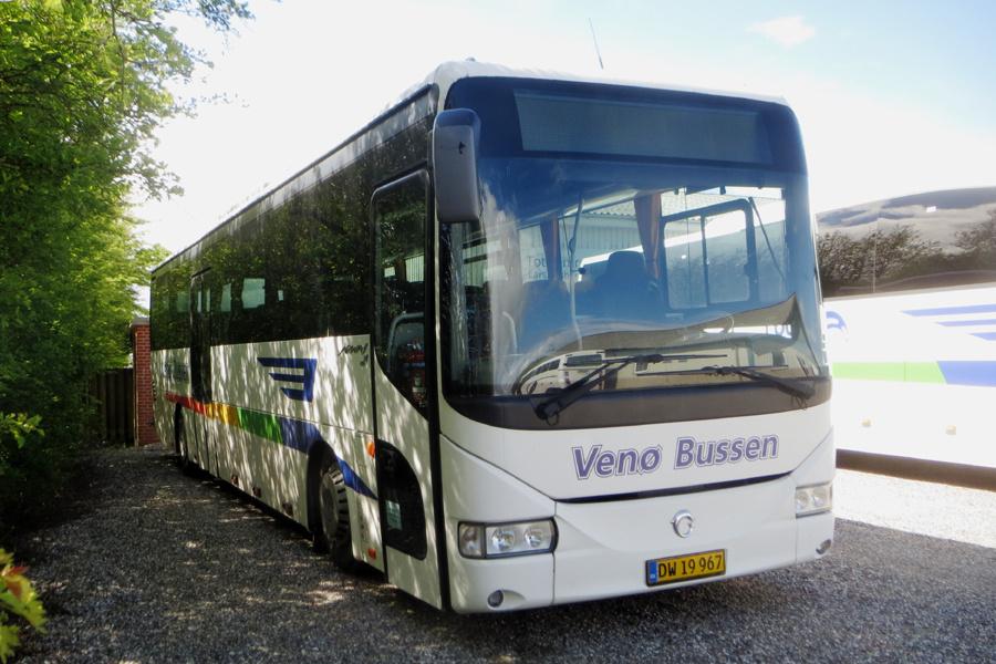 Venø Bussen DW19967 i Struer den 27. maj 2021