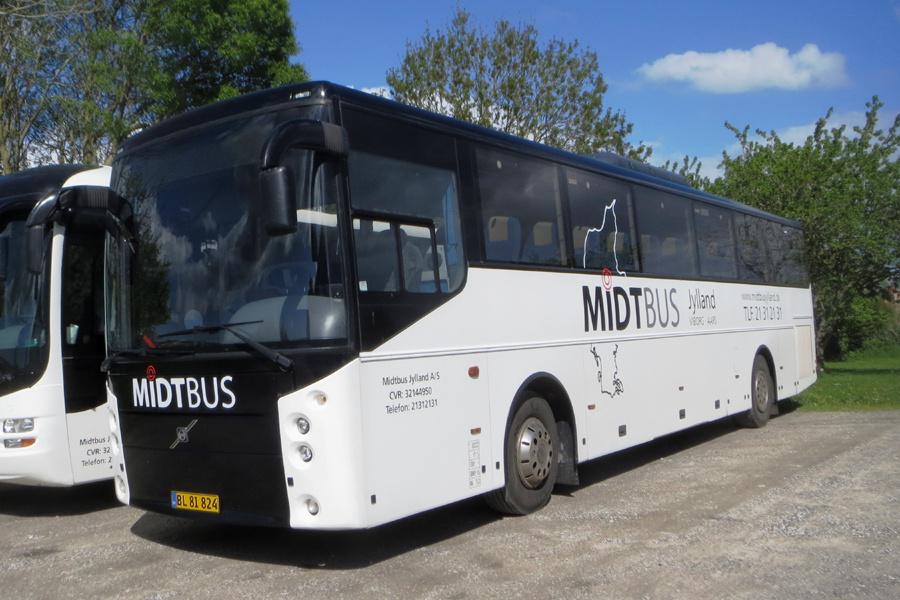 Midtbus Jylland 132/BL81824 i Viborg den 27. maj 2021