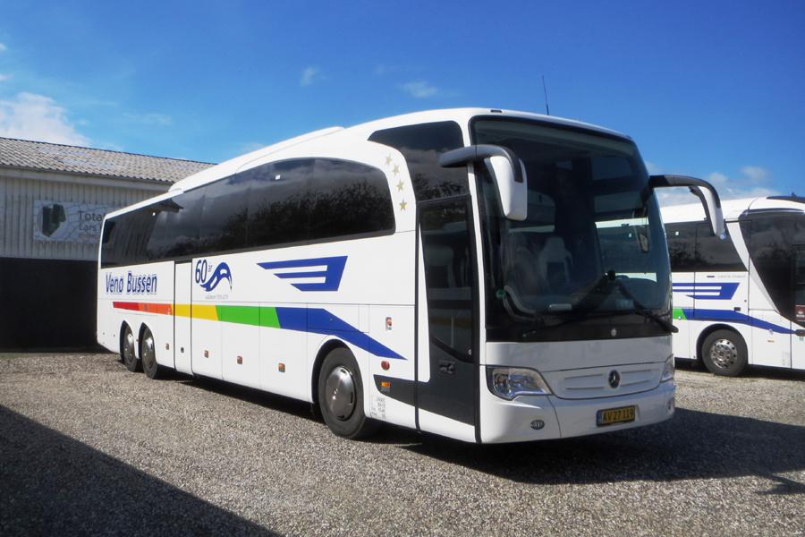 Venø Bussen AV27119 i Struer den 27. maj 2021
