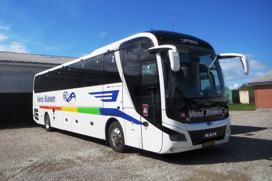 Venø Bussen CA97238 i Struer den 27. maj 2021